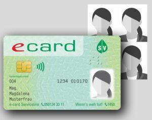 passbilder und biometrisches Passfoto für die Verwendung auf der GEsundheitskarte. E-Card Foto