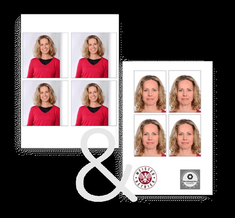 passfoto kombiangebot - passfoto wels - das Fotostudio für Wels udn Wels-Land zum Thema Passfotos, Bewerbungsfotos und Visumfotografie