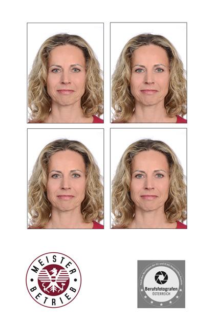 passfotos - passbild vom österreichischen Experten und Meisterfotograf mit Fotostudio in Wels - Land