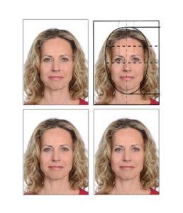 passfoto größe der österreichischen biometrischen Reisepassbilder